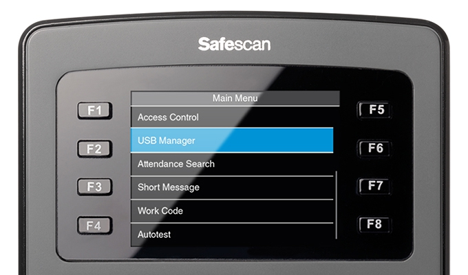 safescan-time-attendance-main-menu-screen