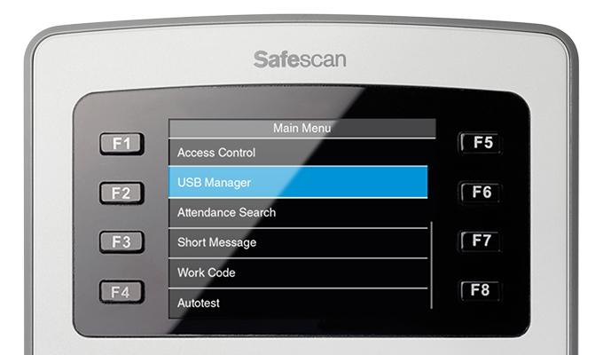 safescan-time-attendance-main-menu-screen